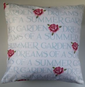 Cushion Cover in Emma Bridgewater Summer Garden 16""